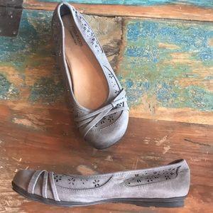 New Maurice's 9.5 Memory Foam Ballet Flats shoes